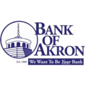 Bank of Akron logo